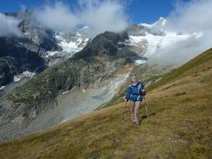Suzanne treks the 'Tour de Mont Blanc'