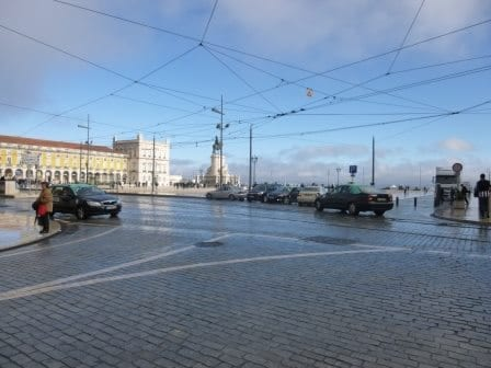 Happily lost in Lisbon