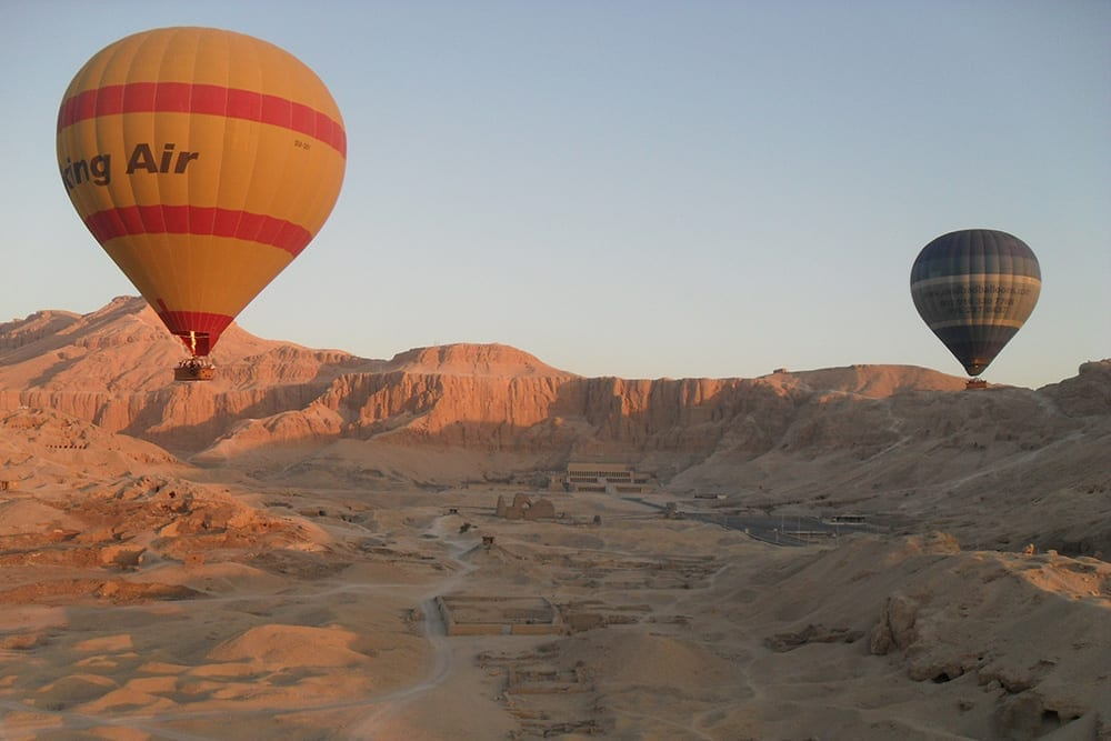 Hot Air Ballooning in Valley of the Kings