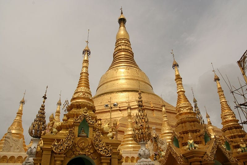 Myanmar - The Shwedagon Pagoda