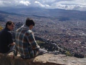 Overlooking Bogota