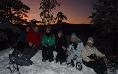 Irene's pre-Christmas chill-out in Lapland